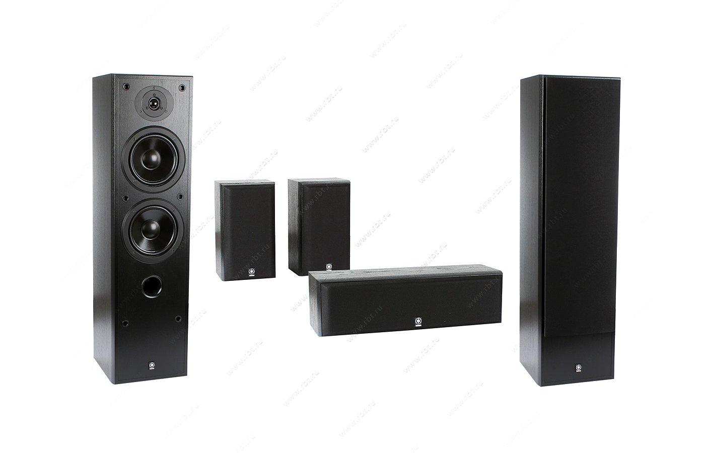 Комплект акустики YAMAHA NS-50F Black+NS-P60 Black (5.0 комплект)