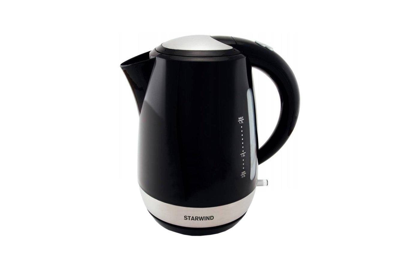 Чайник электрический  StarWind SKP 4622 черный