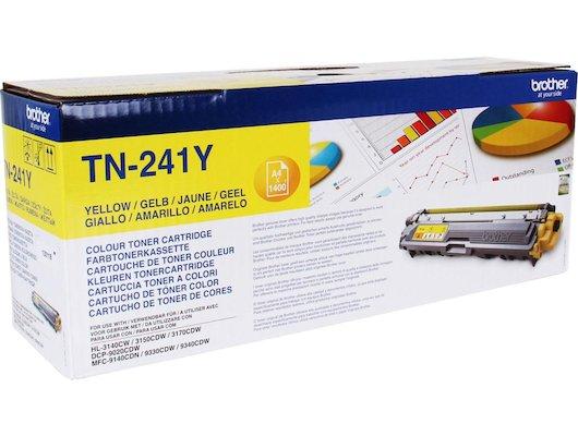 Картридж лазерный Brother TN241Y