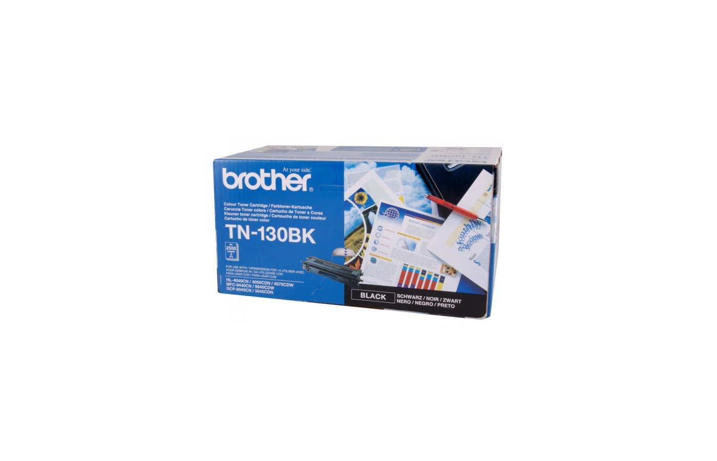 Картридж лазерный Brother TN130BK