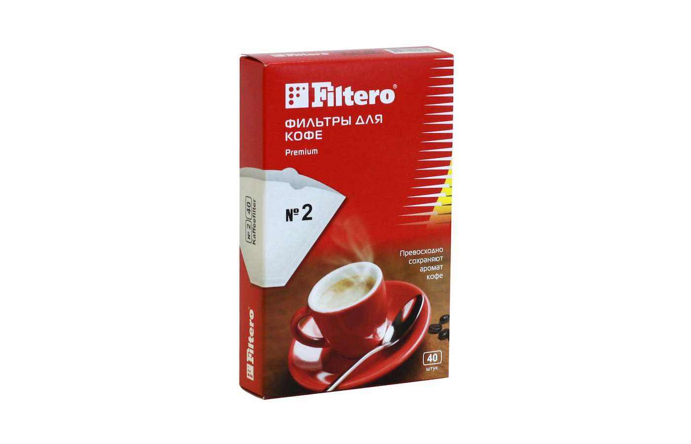 Фильтры для кофеварок FILTERO №2/40