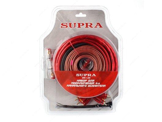 Комплект для подключения автозвука SUPRA SAK 4.80