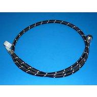 Аксессуары для подключения стиральных машин COTALI UDI-BLACK Шланг наливной 3.0 м (20/80 100 гр. нейлон.оплетка)
