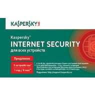 Фото Компьютерное ПО Kaspersky Internet Security Multi-Device Russian Ed. 3-Device 1 year Renewal Card (KL1941ROCFR)