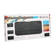 Фото Клавиатура проводная Defender Oscar SM-660L Pro Black USB
