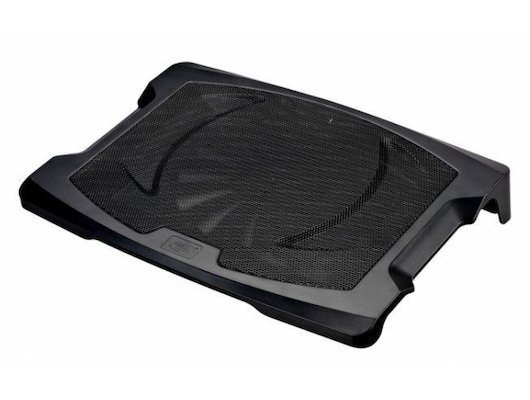 "Подставка для ноутбука Xilence M400 (COO-XPLP-M400) 17""/1x200mm FAN/Metal+Plastic/Black"
