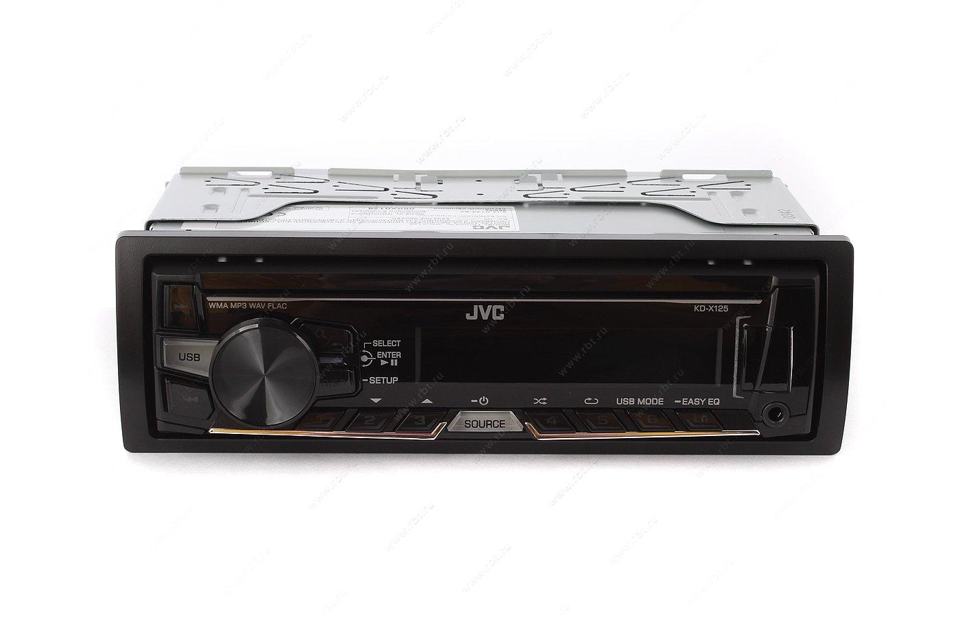 Автомагнитола JVC KD-X125EED