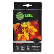 Фотобумага Cactus CS-HGA628020 Prof 10x15/280г/м2/20л./белый высокоглянцевое для струйной печати