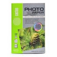 Фото Фотобумага Cactus CS-MA6230500 10x15/230г/м2/500л./белый матовое для струйной печати