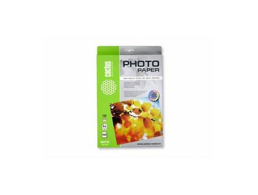 Фотобумага Cactus CS-MA4120100 A4/120г/м2/100л./белый матовое для струйной печати