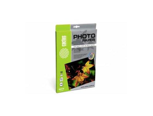 Фотобумага Cactus CS-MA419050 A4/190г/м2/50л./белый матовое для струйной печати