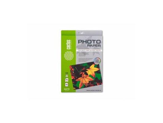 Фотобумага Cactus CS-MA423050 A4/230г/м2/50л./белый матовое для струйной печати
