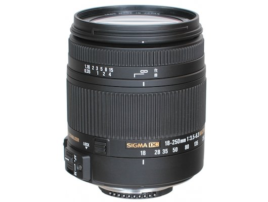 Объектив Sigma AF 18-250mm f/3.5-6.3 DC OS HSM Macro Nikon F