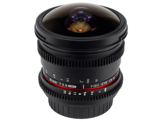 Объектив SAMYANG MF 8mm T3.8 AS IF UMC Fish-eye CS II VDSLR Canon EF