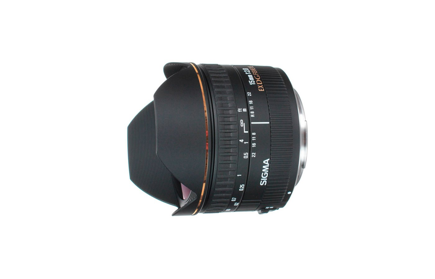 Объектив Sigma AF 15mm f/2.8 EX DG DIAGONAL FISHEYE CANON