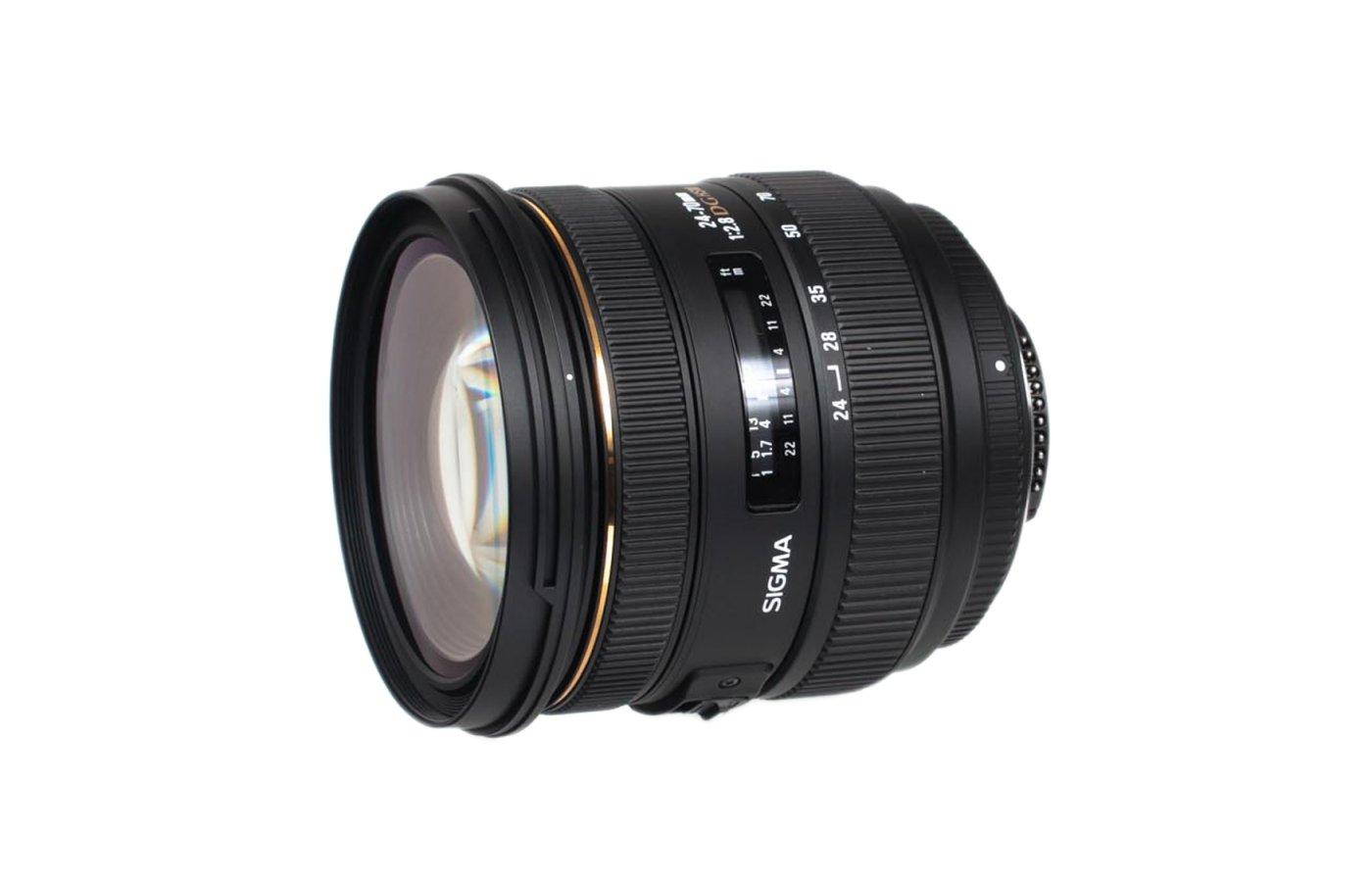 Объектив Sigma AF 24-70mm f/2.8 IF EX DG HSM для NIKON