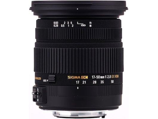 Объектив Sigma AF 17-50mm f/2.8 EX DC HSM PENTAX