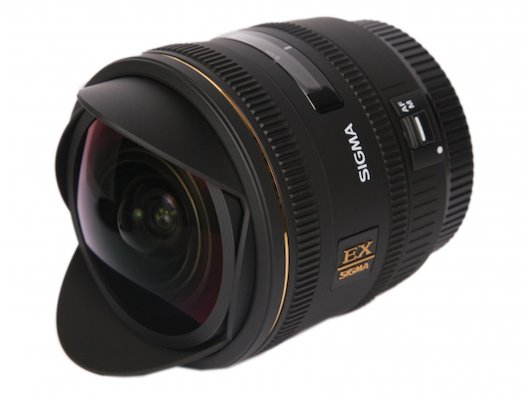 Объектив Sigma AF 10mm f/2.8 EX DC HSM Fisheye CANON