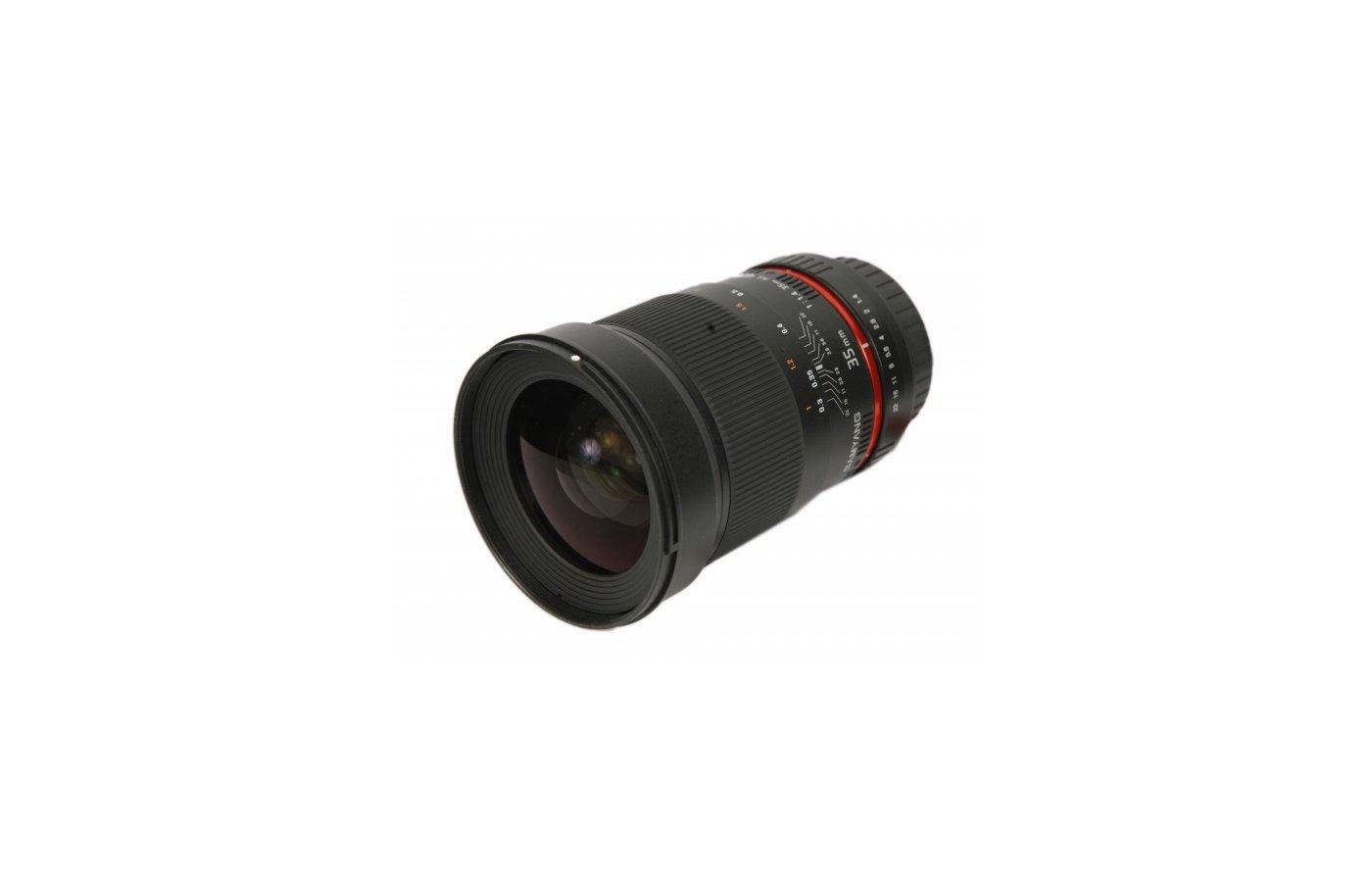 Объектив SAMYANG MF 35mm f/1.4 ED AS UMC Canon EF