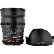 Объектив SAMYANG MF 35mm T1.5 ED AS UMC VDSLR Canon EF