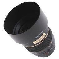 Фото Объектив SAMYANG MF 85mm f/1.4 AS IF Canon EF