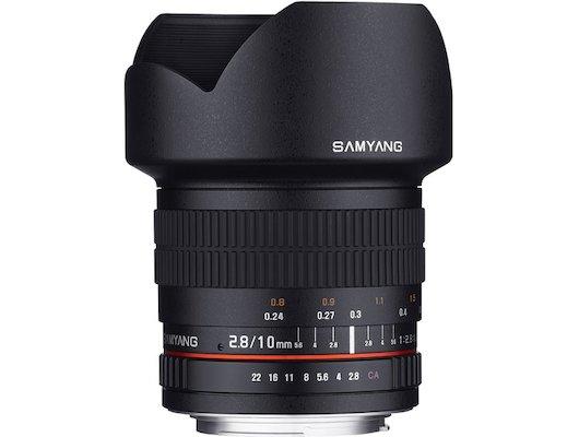 Объектив SAMYANG MF 10mm f/2.8 ED AS NCS CS Canon EF