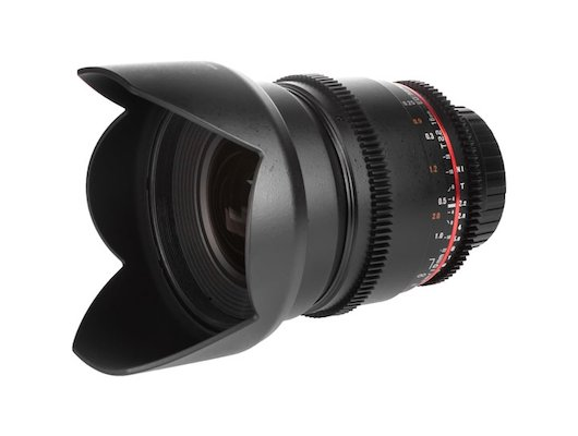 Объектив SAMYANG MF 16mm T2.2 ED AS UMC CS VDSLR Canon EF