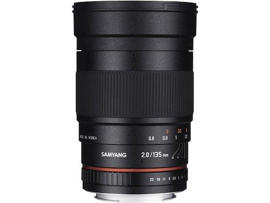 Объектив SAMYANG MF 135mm f/2.0 ED UMC Sony E (NEX)