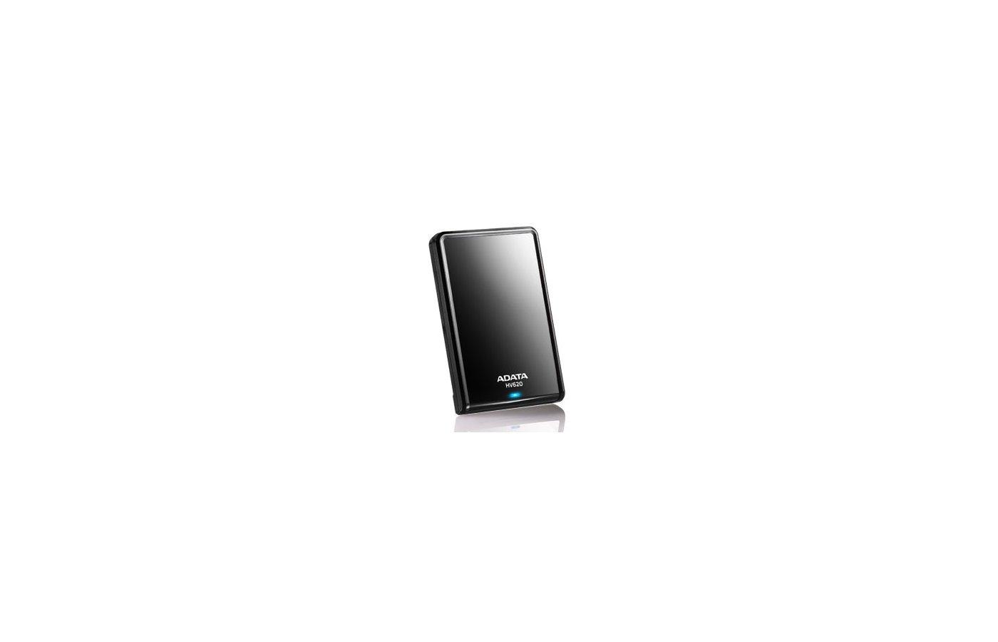 """Внешний жесткий диск A-Data USB 3.0 2Tb AHV620-2TU3-CBK 2.5"""" черный"""