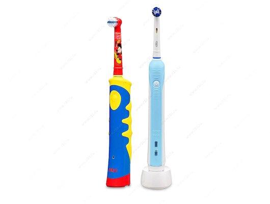 Зубные щетки электрические Oral-B PC 500 + Oral-B Mickey Kids Free