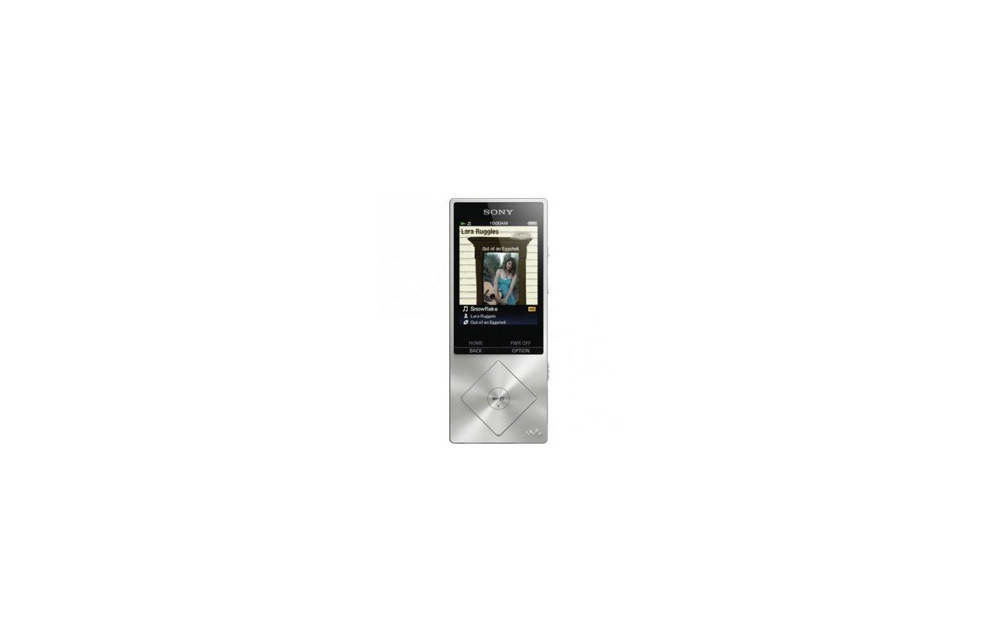 МР3 плеер SONY NWZ-A15 серебристый