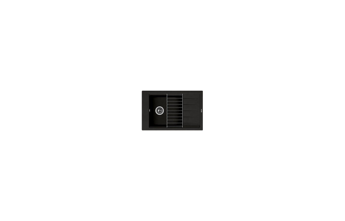 Кухонная мойка Florentina ЛИПСИ 780Р Черный FG