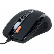 Фото Мышь проводная A4Tech X7-710BK (чер) USB 6кн 1кл-кн игр.