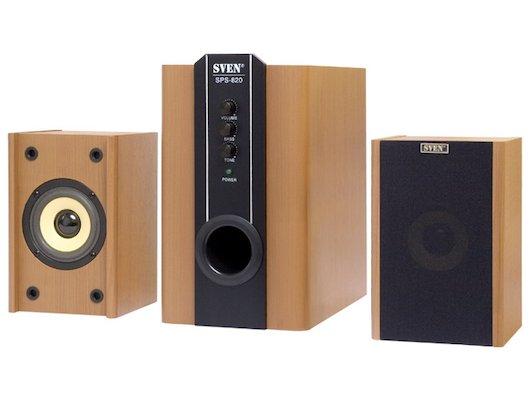 Компьютерные колонки SVEN SPS-820 wooden