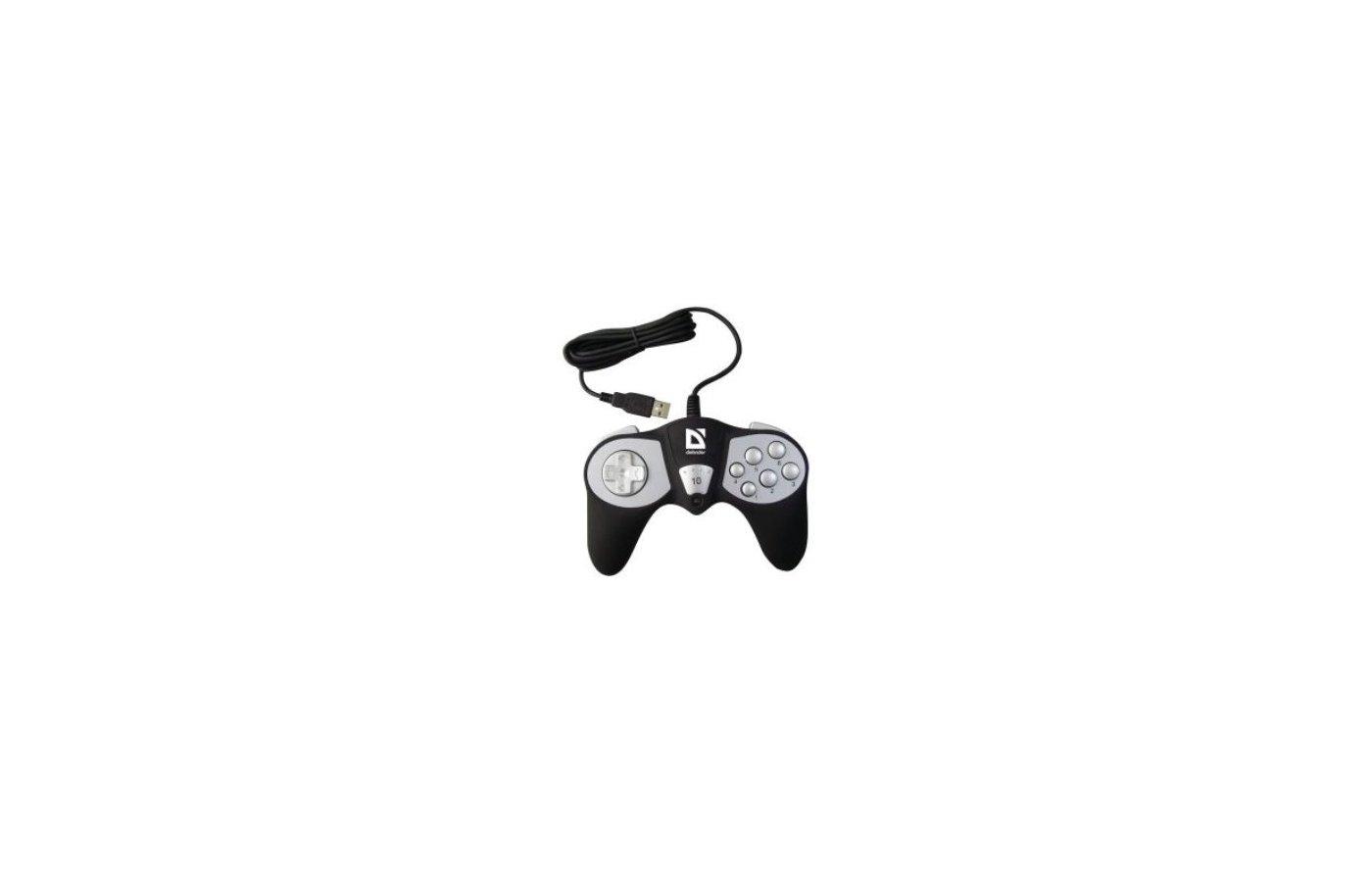 Геймпад DEFENDER GAME RACER 10 кн. USB