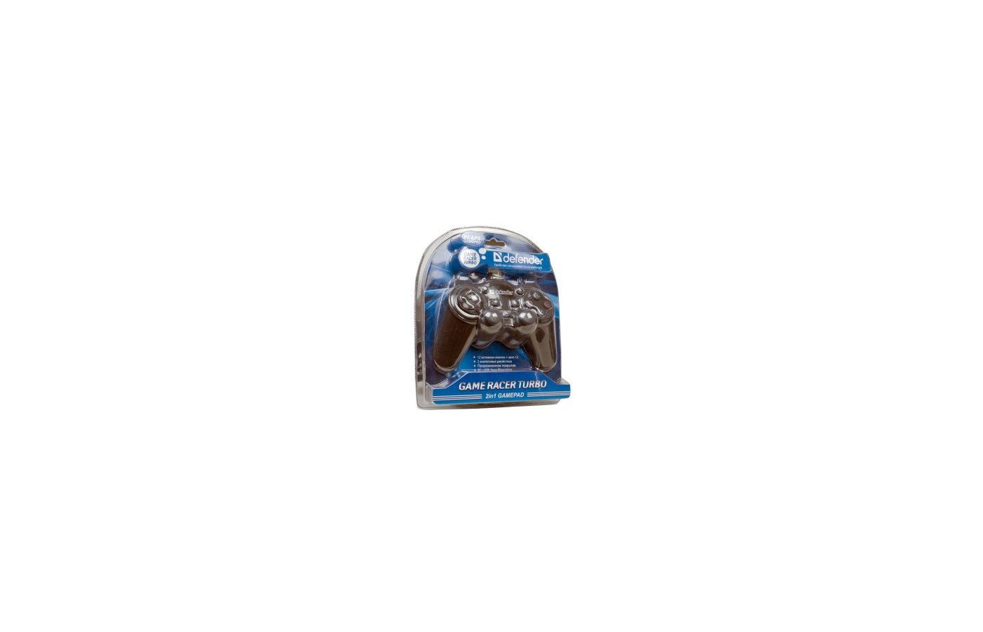 Геймпад DEFENDER GAME RACER TURBO RS3 2 джойстика