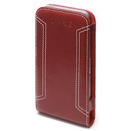 Фото Чехол Lanriz Magnet Flipper для iPhone 4/4S кожа красный (LIPHONE4MFRD)
