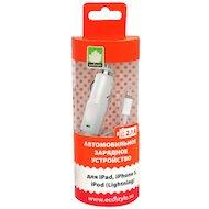 Фото Зарядное устройство EcoStyle АЗУ Lightning 8-pin 2.1А для Apple белый