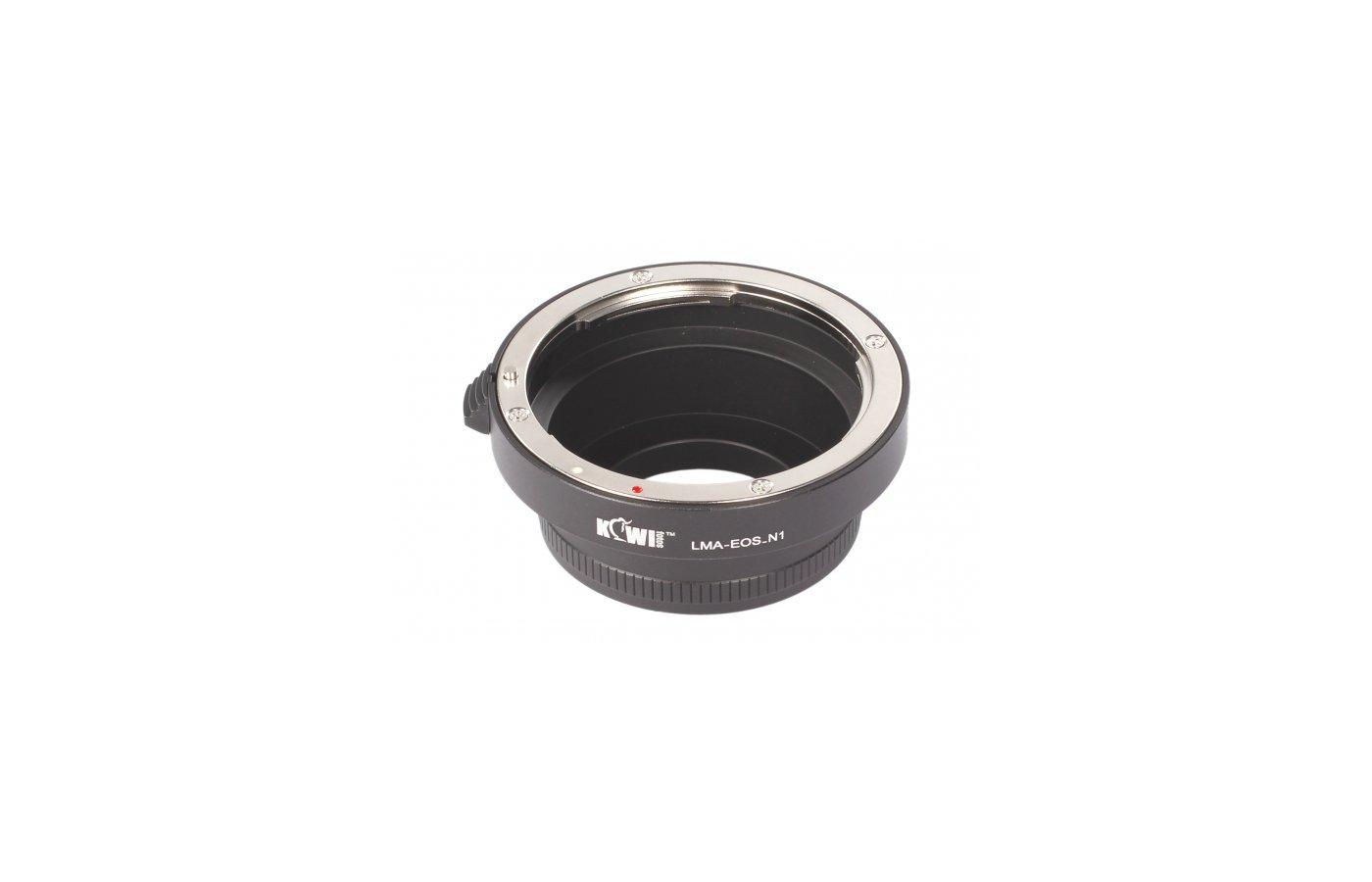 JJC KIWIFOTOS LMA-EOS-N1 (Canon EF- Nikon 1) Переходное кольцо
