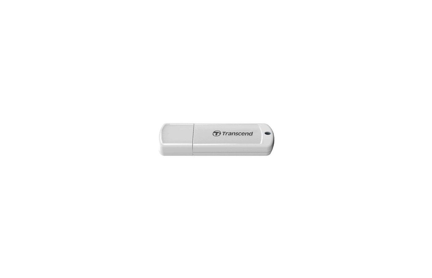 Флеш-диск Transcend 16Gb JetFlash 370 TS16GJF370 USB2.0 белый