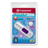 Фото Флеш-диск USB 2.0 Transcend 32Gb JetFlash 530 TS32GJF530 белый/фиолетовый