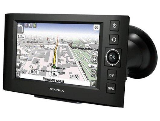 Навигатор SUPRA SNP-439VR