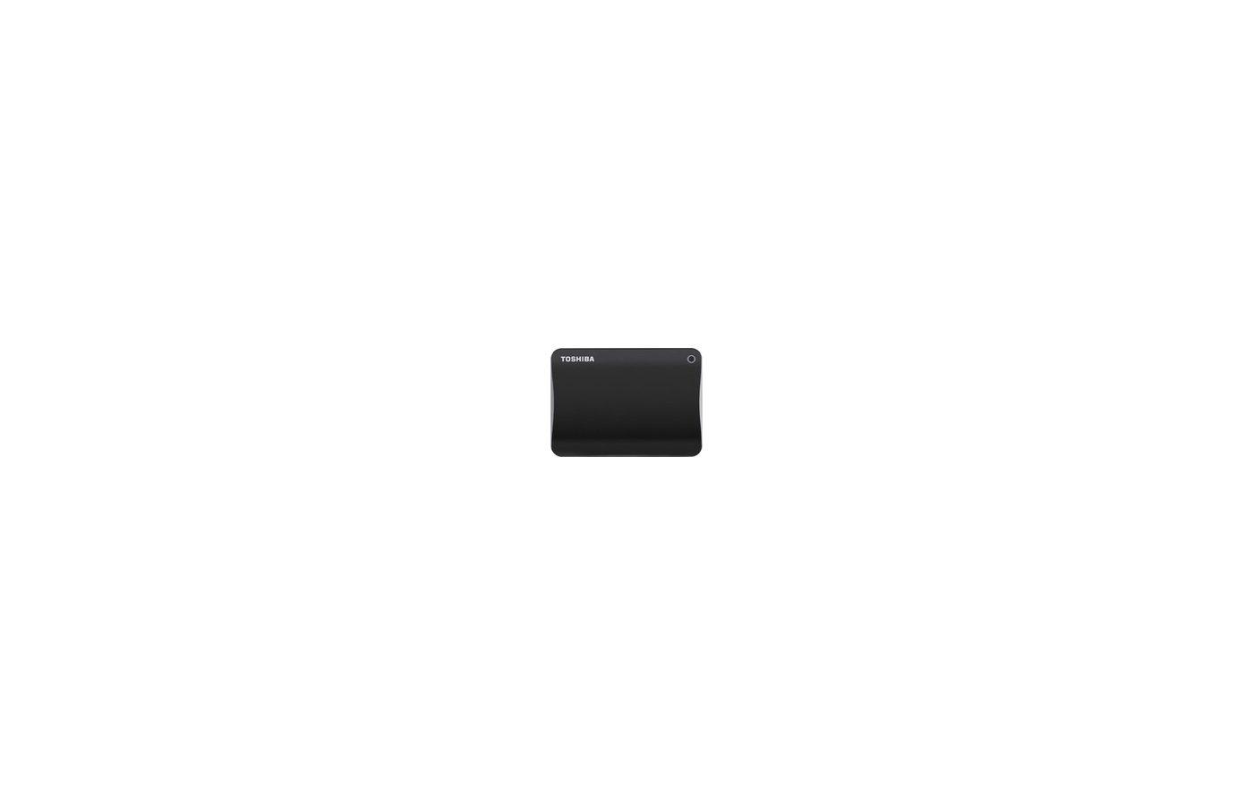 Внешний жесткий диск Toshiba HDTC810EK3AA 1Tb USB 3.0 CANVIO Connect II 2.5 черный