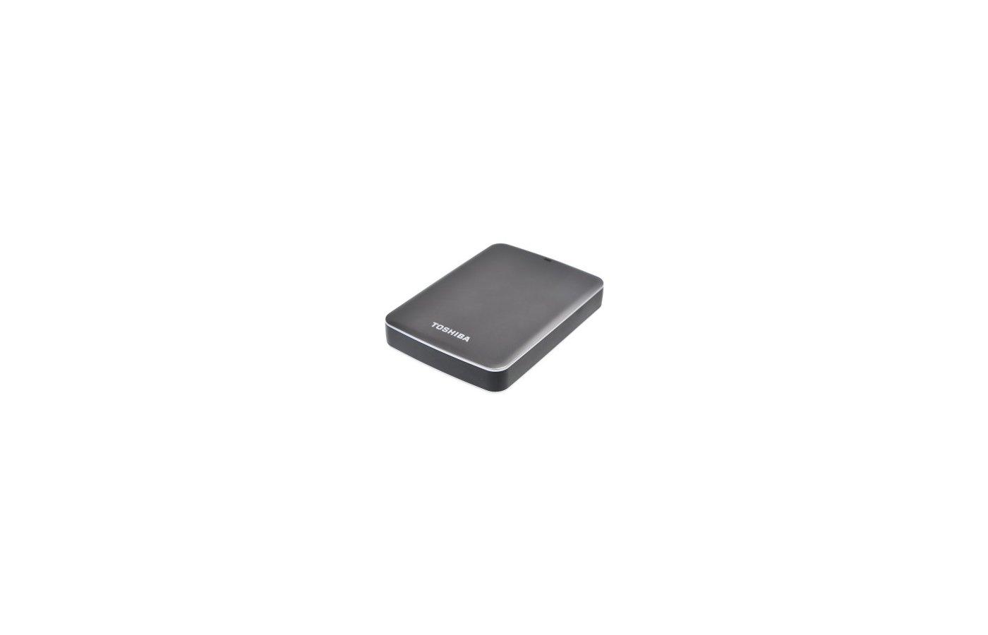 """Внешний жесткий диск Toshiba USB 3.0 500Gb HDTC805EK3AA CANVIO Connect II 2.5"""" черный"""