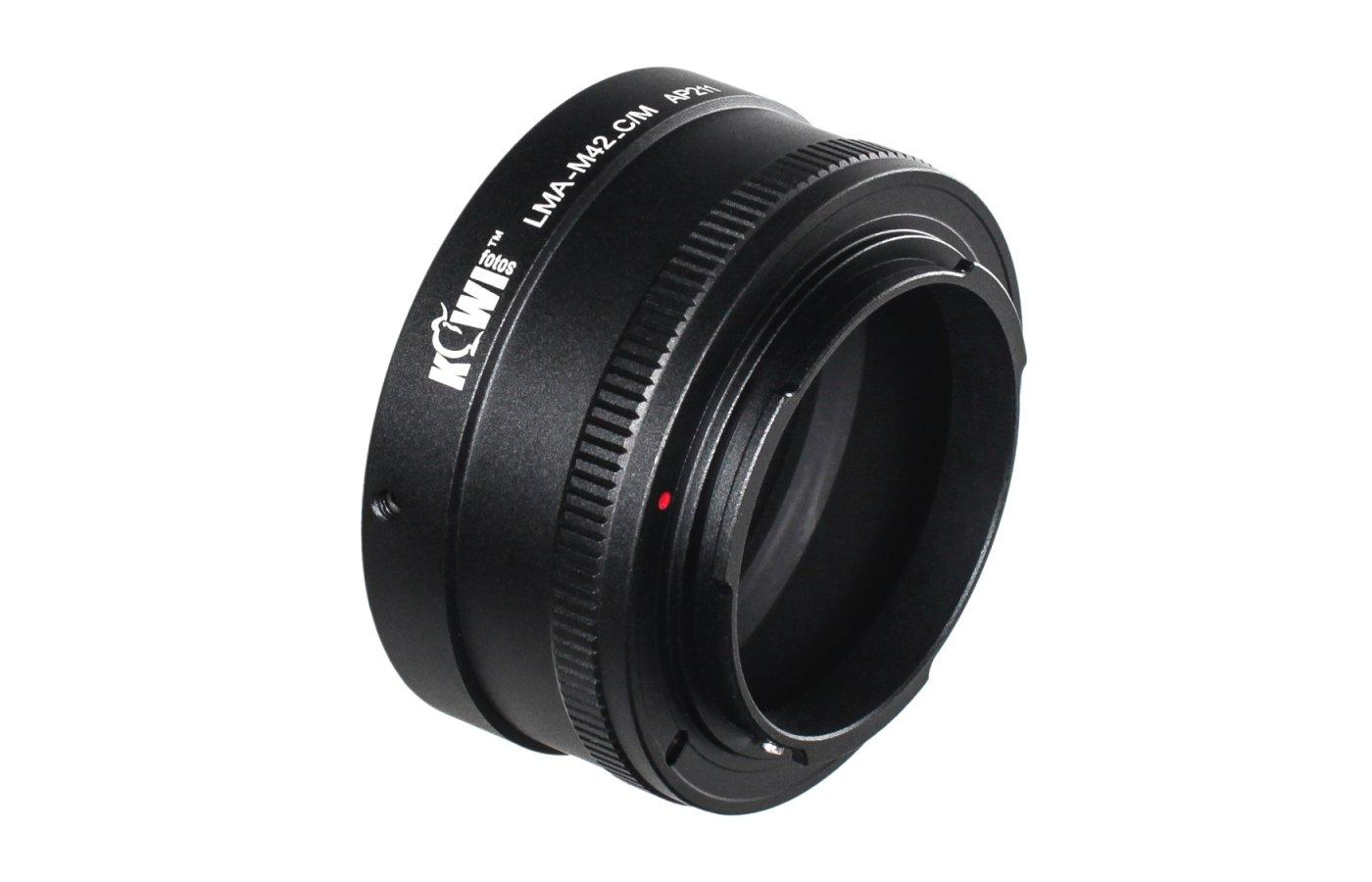 JJC KIWIFOTOS LMA-M42-C/M (M42-Canon EF-M) Переходное кольцо