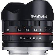 Объектив SAMYANG MF 8mm f/2.8 AS IF UMC Fish-eye Fuji X
