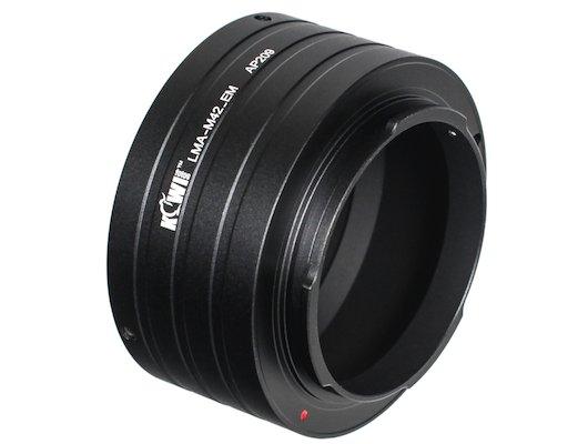 JJC KIWIFOTOS LMA-M42-EM (M42-Sony E-Mount NEX) Переходное кольцо