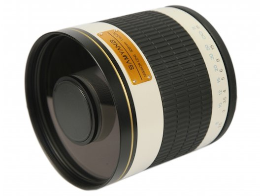 Объектив SAMYANG MF 500mm f/6.3 Mirror T-mount