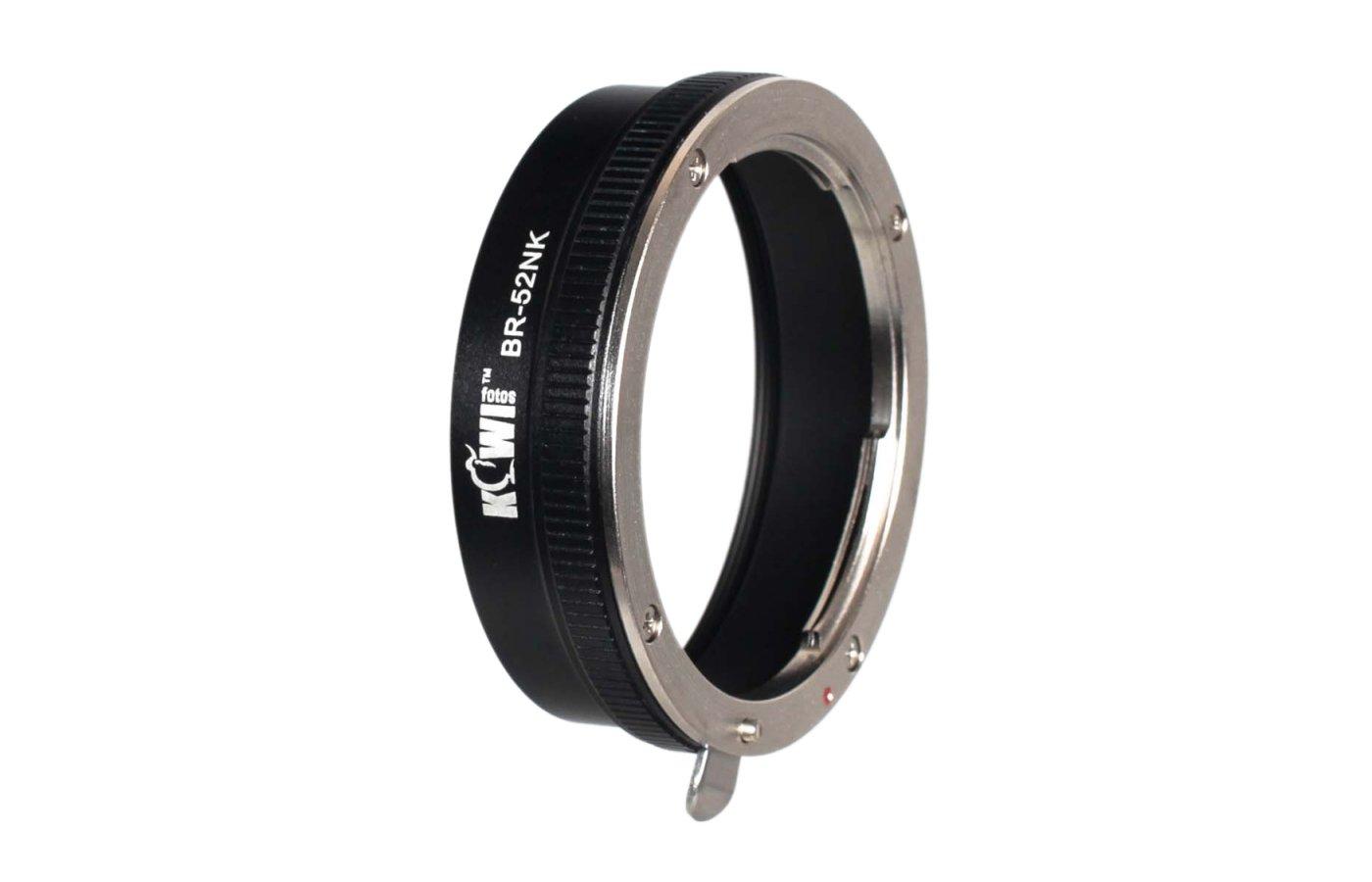 JJC KIWIFOTOS BR-52NK Переходное кольцо адаптер фильтра для NIKKOR 52 mm