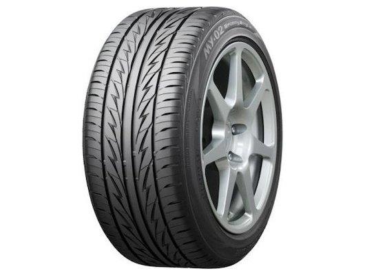 Шина Bridgestone MY-02 Sporty Style 185/55 R15 TL 82V